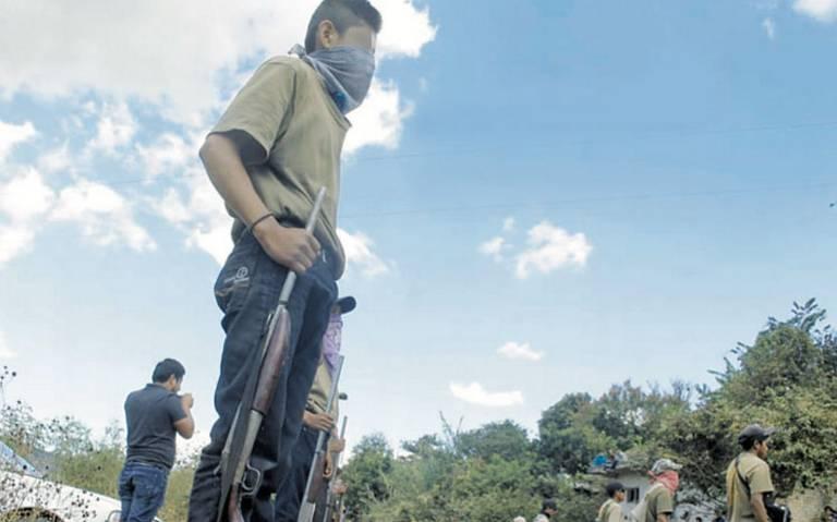 Policía comunitaria recluta a menores