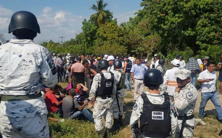 Guardia Nacional no cayó en trampa de usar violencia contra migrantes: AMLO
