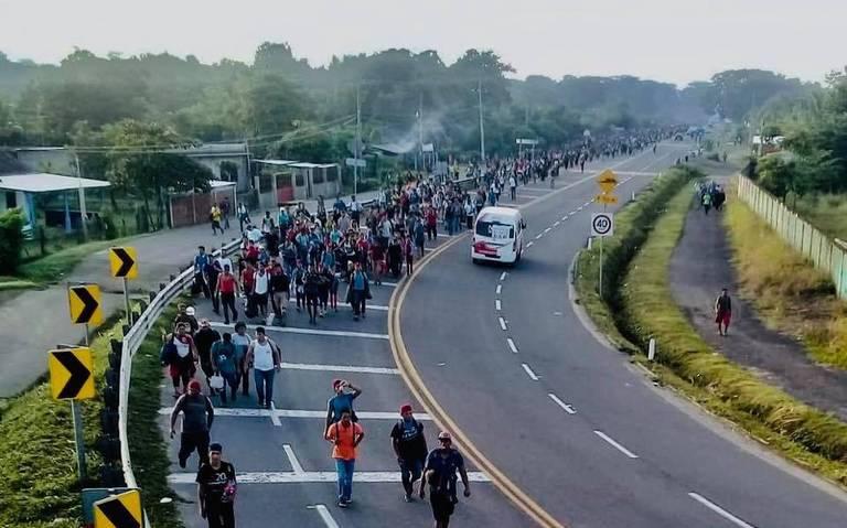 México se prepara ante nueva caravana de migrantes hondureños