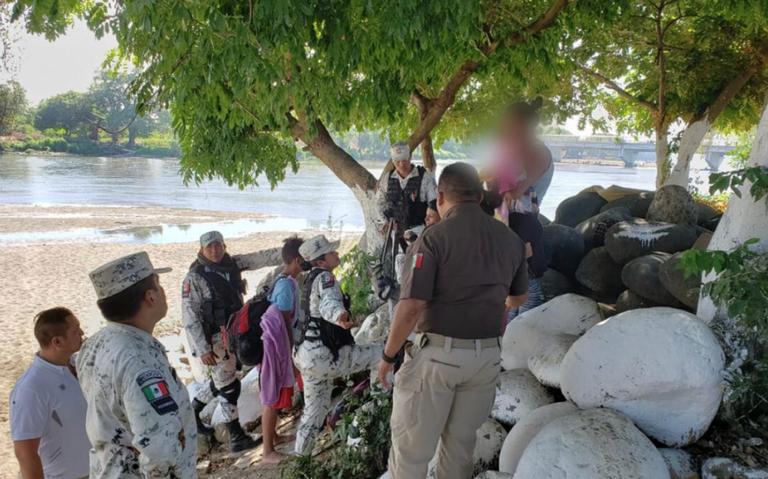 Rescatan a más de 2 mil migrantes en Tabasco y Chiapas: INM