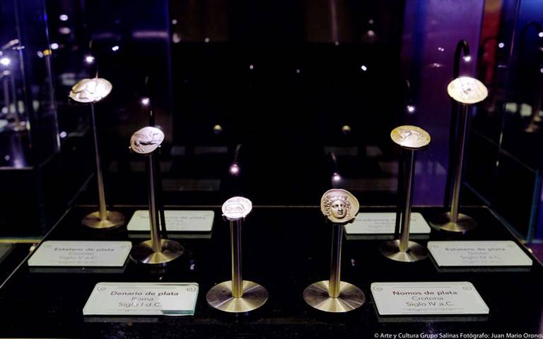 Exhiben en el MIDE las primeras monedas del mundo