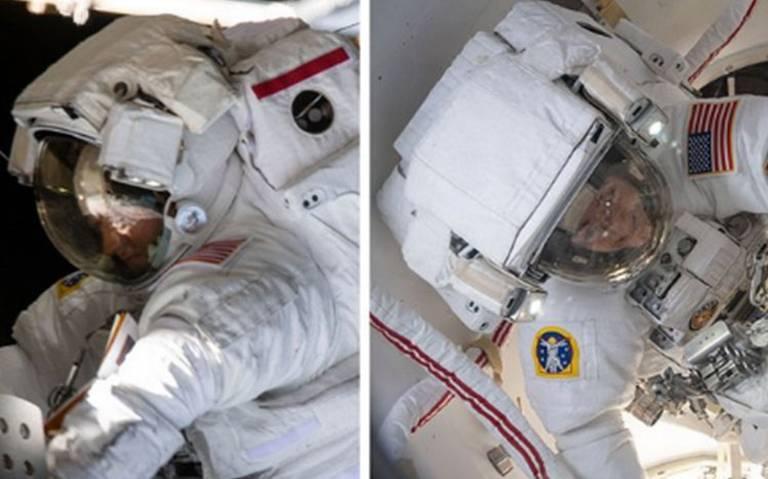 Por segunda ocasión, la NASA realiza caminata espacial femenina