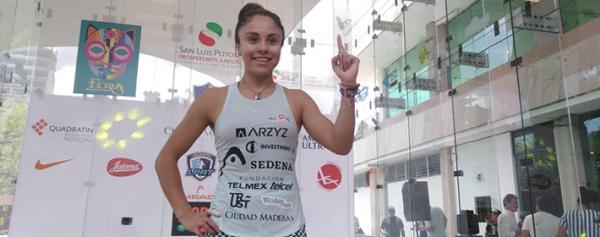 Paola Longoria fue nominada al premio a mejor deportista del año 2019