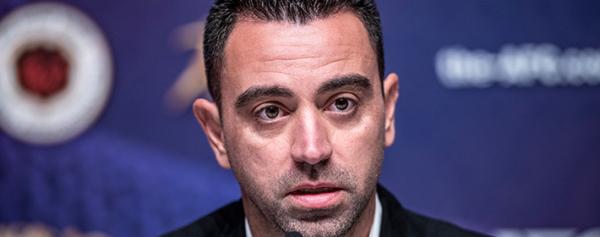 El Barcelona se reúne con Xavi