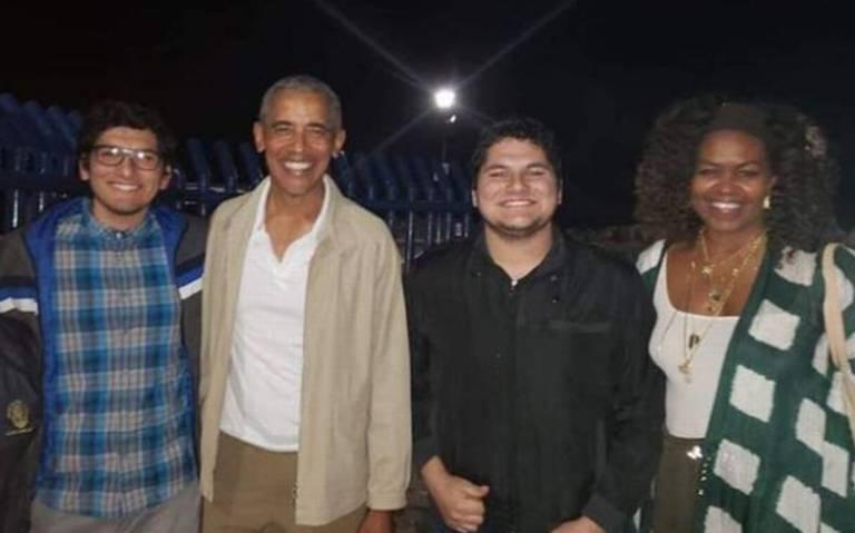 Captan a Barack y Michelle Obama vacacionando en Loreto