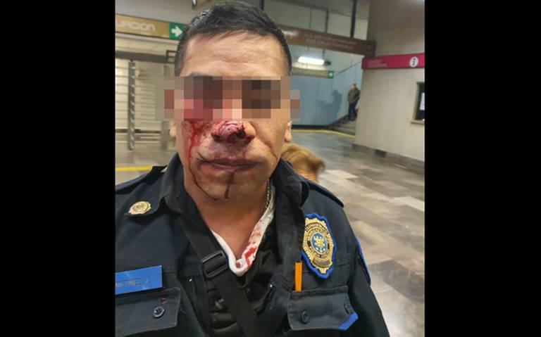 """""""El caníbal del Metro"""" mordió a policía en la estación Ermita L12"""