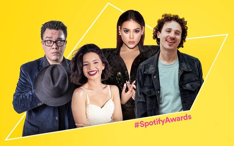 Estas son las categorías de nominados a los Spotify Awards