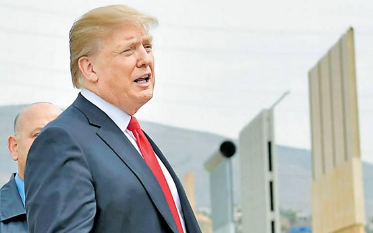 Trump celebra aprobación para construir una de las secciones más grandes del muro
