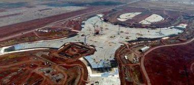 Este es el avance general que lleva el Nuevo Aeropuerto de Santa Lucía