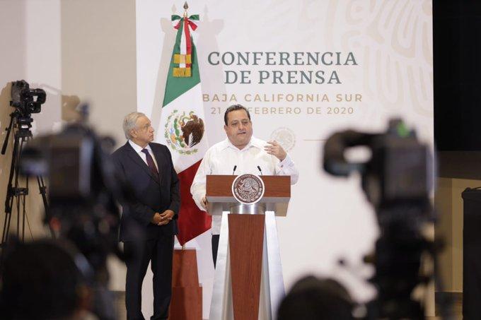 Gobernador de Baja California presenta informe sobre seguridad