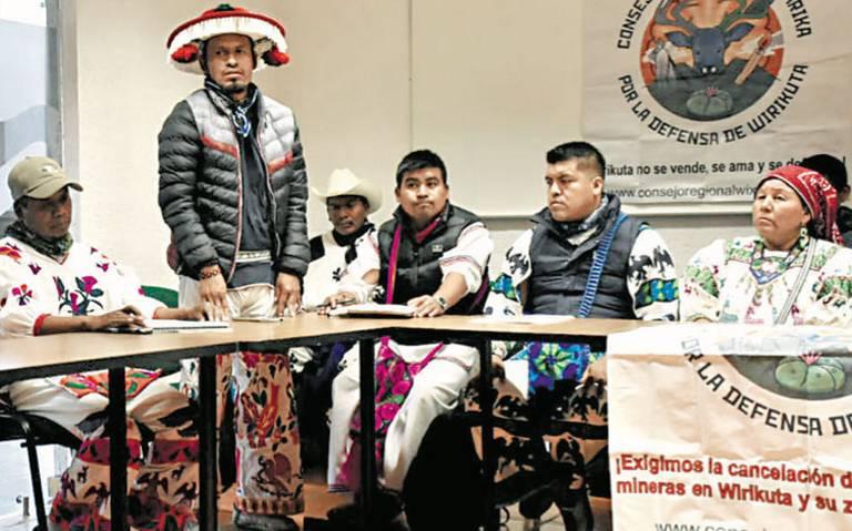 Wixárikas van contra mineras por apropiarse de sus tierras