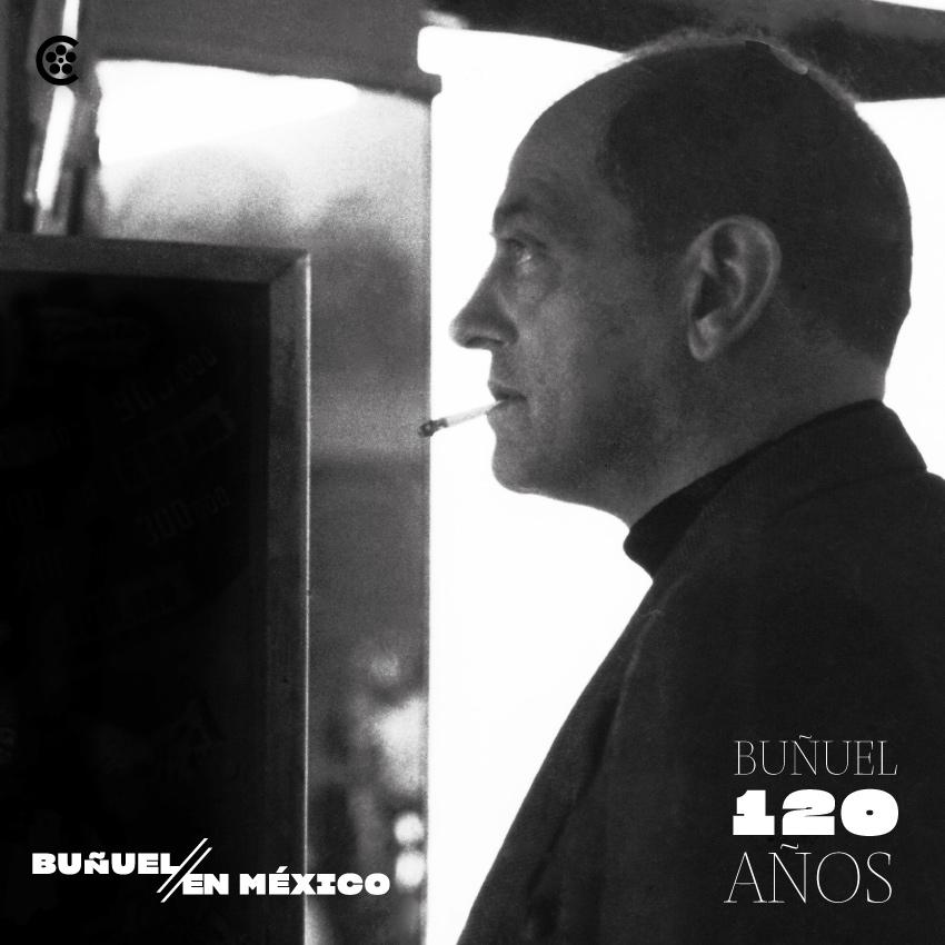 La Cineteca Nacional invita a exposición Buñuel en México a 120 años de su nacimiento