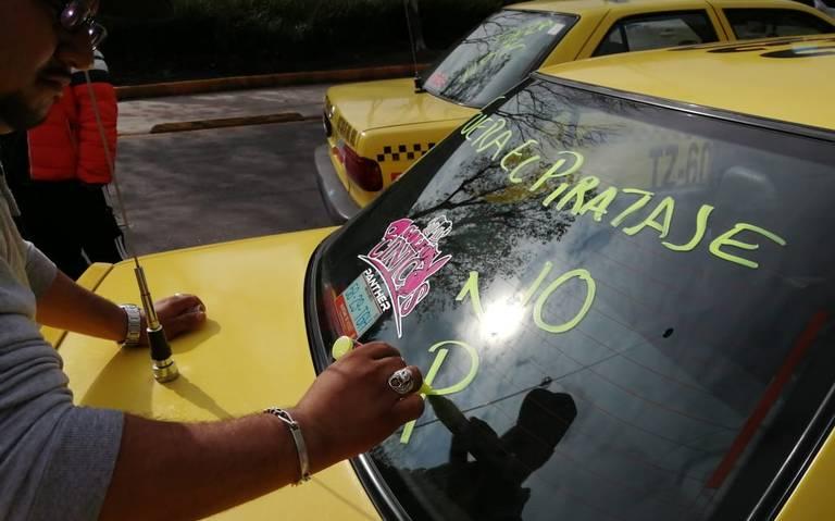 """""""¡Fuera aplicaciones!"""" Taxistas estallan contra Uber y similares"""