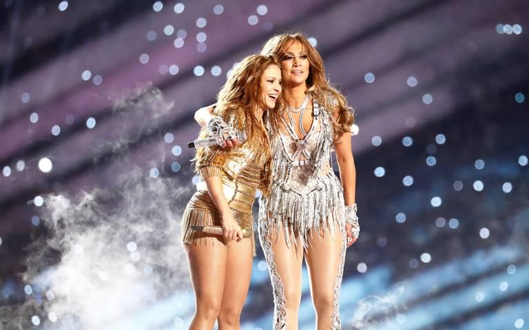 Así celebraron J. Lo y Shakira su logro en el Super Bowl