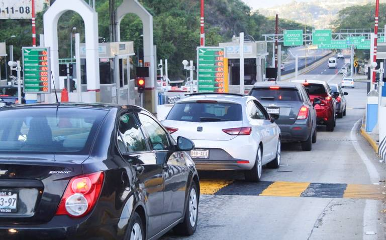 Aumenta peaje de la Autopista del Sol; viajar a la Ciudad de México cuesta más de 600 pesos