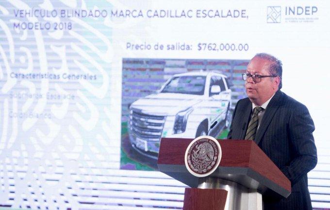 Gobierno Federal realizará el domingo primera subasta del 2020