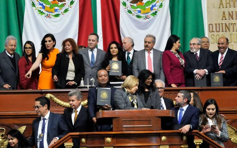 Constitución de CDMX se ha reformado a modo, acusa oposición
