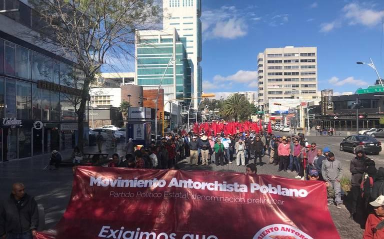 ¡Caos en la ciudad! Anuncia Antorcha Campesina manifestación con 20 mil personas