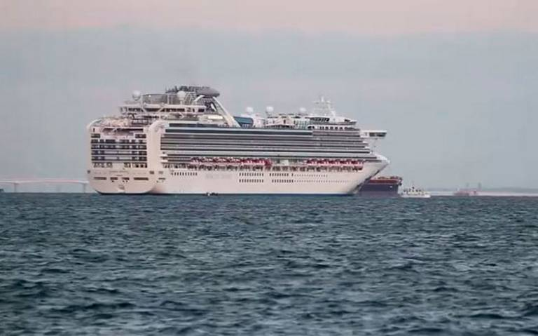 Japón pone en cuarentena a crucero tras pasajero con coronavirus
