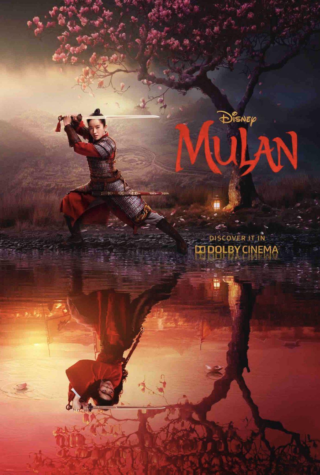 """Llega el nuevo poster de """"Mulan"""""""