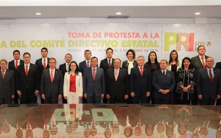 Rinde protesta la nueva estructura del Comité Directivo Estatal del PRI