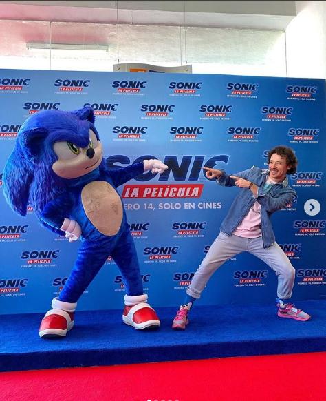 Luisito Comunica aporto personalidad al personaje de Sonic