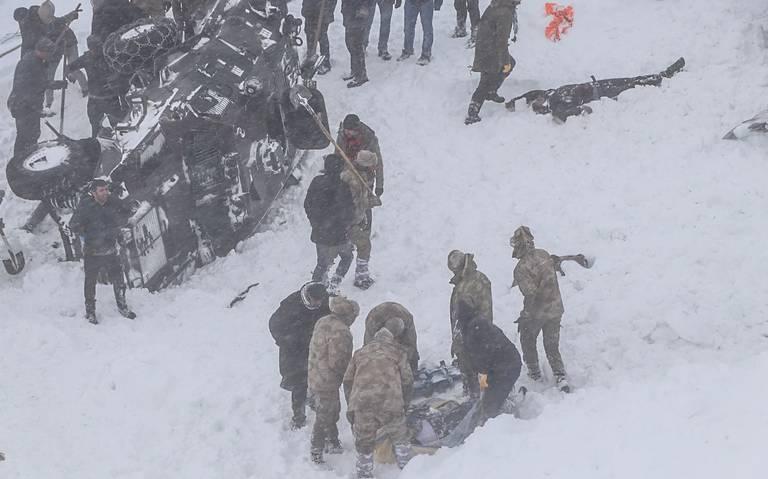 Más de 30 muertos deja avalancha en Turquía