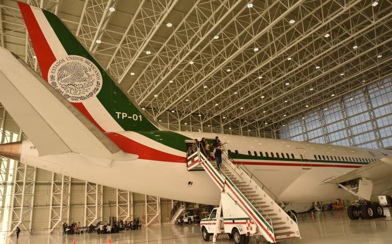 Presentarán proceso de venta de avión presidencial