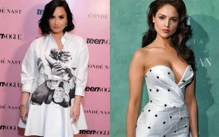 [Video] Demi Lovato y Eiza González derrochan dinero con stripper
