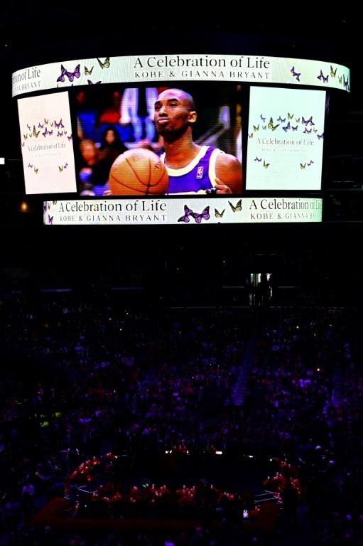 Así fue el emotivo homenaje de Kobe Bryant