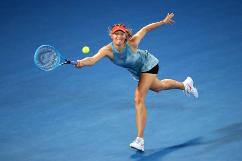 Maria Sharapova se retira del tenis profesional