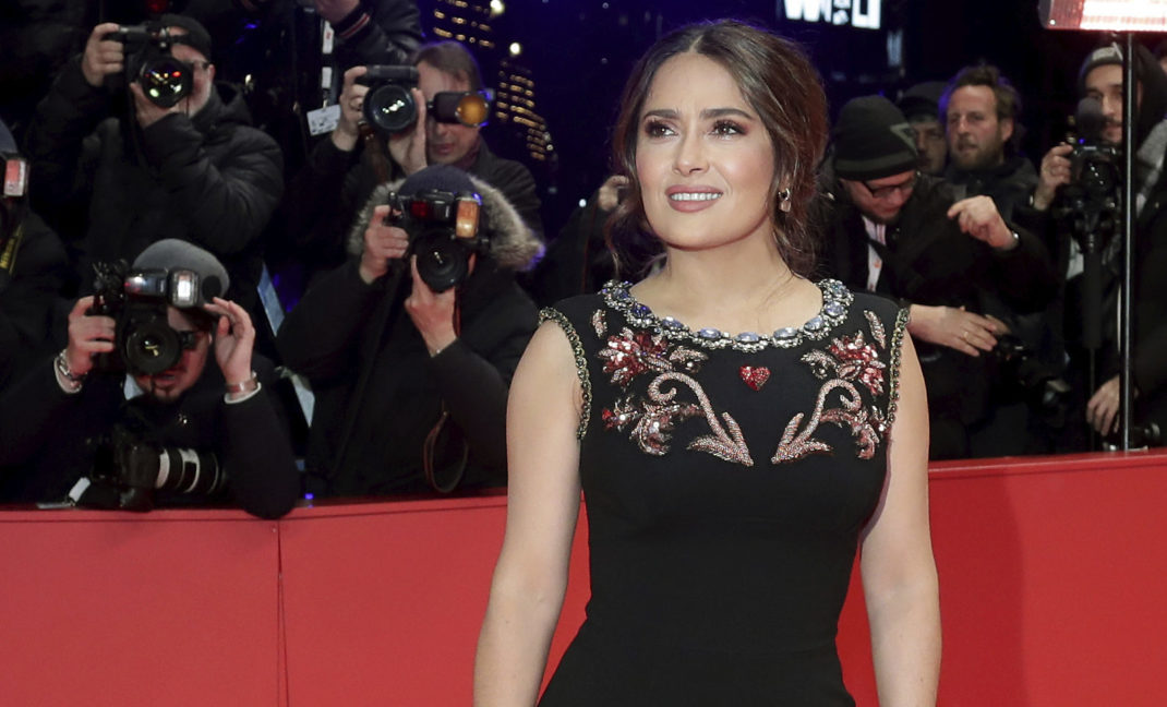 "Salma Hayek estrena ""The Roads Not Taken"" en Berlinale"