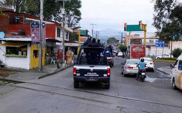 Violencia en Uruapan por pelea de cárteles: Fiscalía