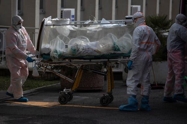Se registran 756 muertes en Italia en un día