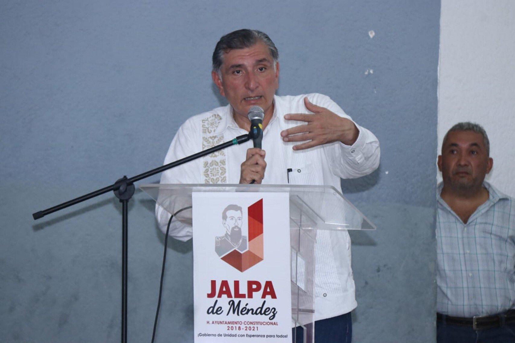 Gobernador de Tabasco da positivo a COVID-19