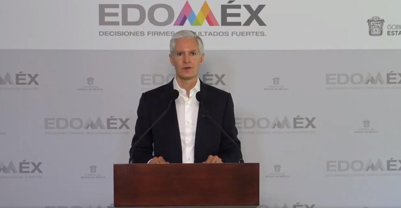 Alfredo Del Mazo anuncia cierres de cines, teatros, gimnasios y demás por COVID-19