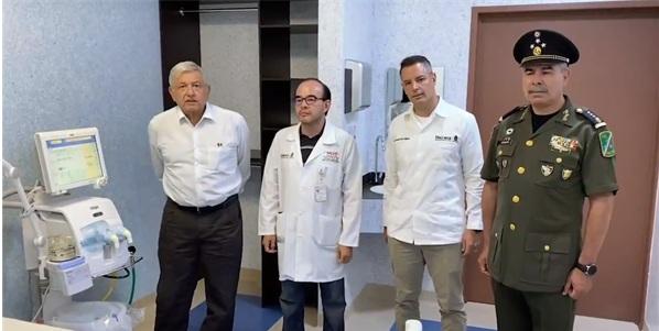 Ejército y Marina tendrán control de 10 hospitales para hacer frente al COVID-19