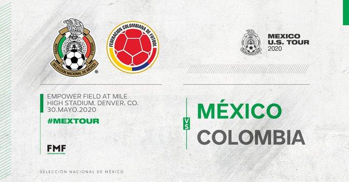 El Tricolor se enfrenta a Colombia en EUA
