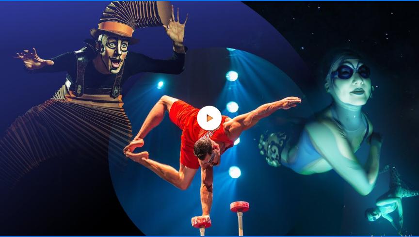 Cirque du Soleil, sube video para que no salgas de casa por alerta sanitaria