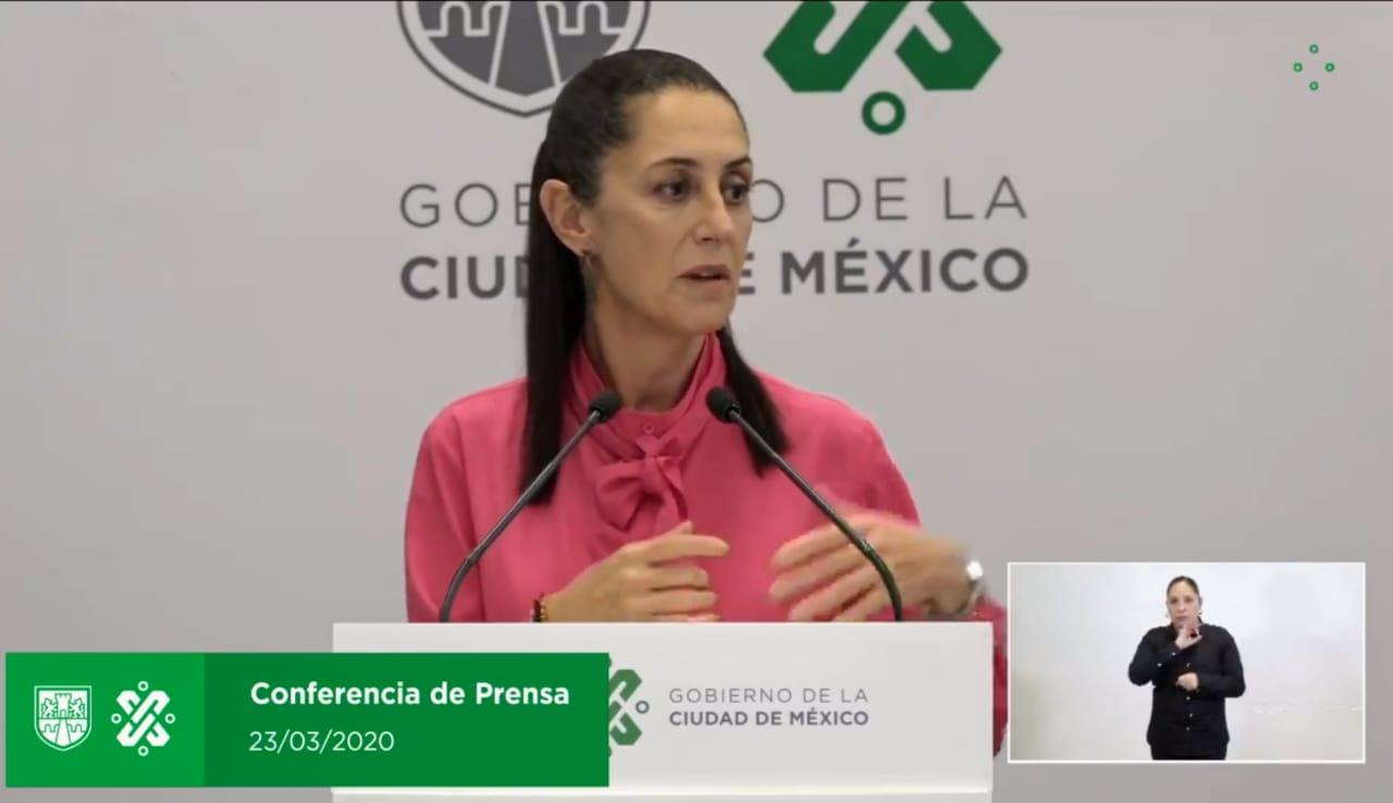 Gobierno de la CDMX presentará mañana paquete económico integral ante situación por coronavirus