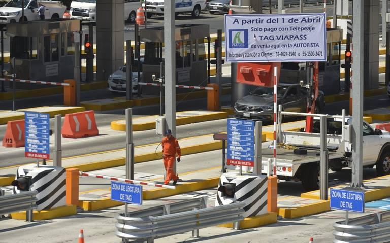 Autopista México-Toluca operará solo mediante TAG por COVID-19