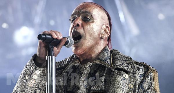 Vocalista de Rammstein internado por contraer COVID-19