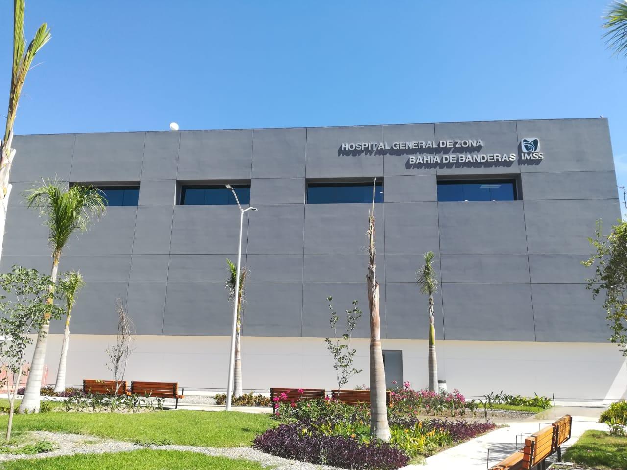 Habilita IMSS hospital en Bahía de Banderas para atención exclusiva de pacientes con COVID-19