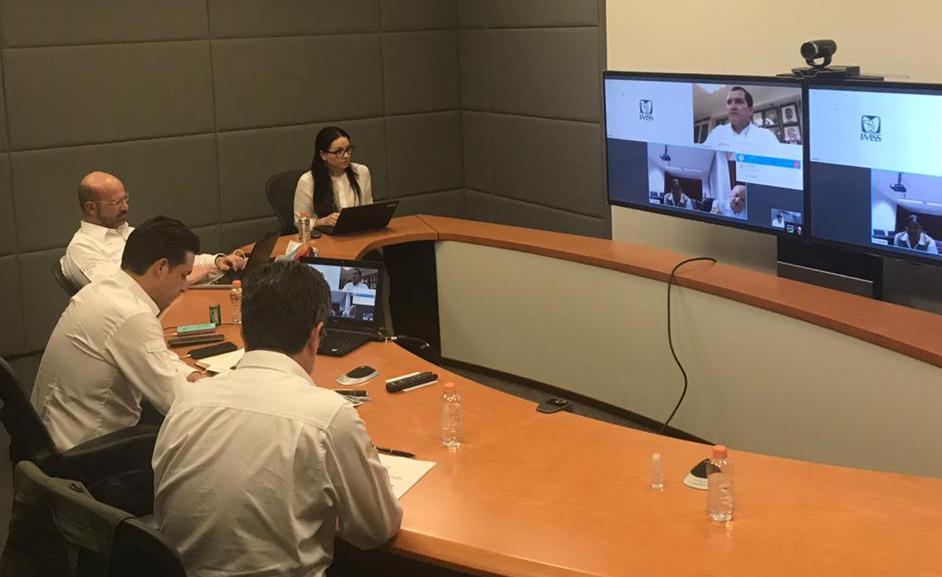 IMSS mantiene comunicación con gobernadores sobre contingencia sanitaria por COVID-19