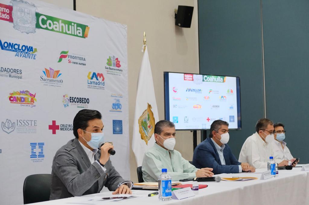 IMSS y Coahuila establecen plan conjunto para hacer frente aemergencia sanitaria por COVID-19