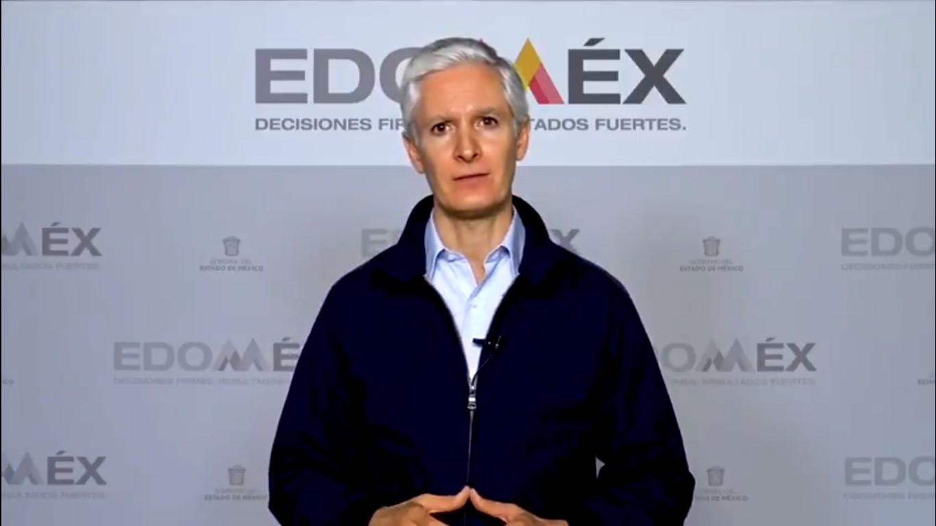 Alfredo Del Mazo pide usar cubrebocas para evitar contagios