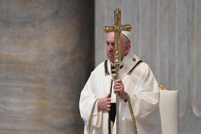 Misa del Domingo de Resurrección desde el Vaticano
