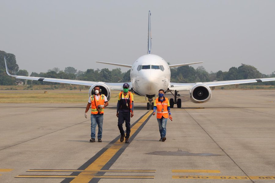 Se esperan dos vuelos más de China con insumos para COVID-19: SRE