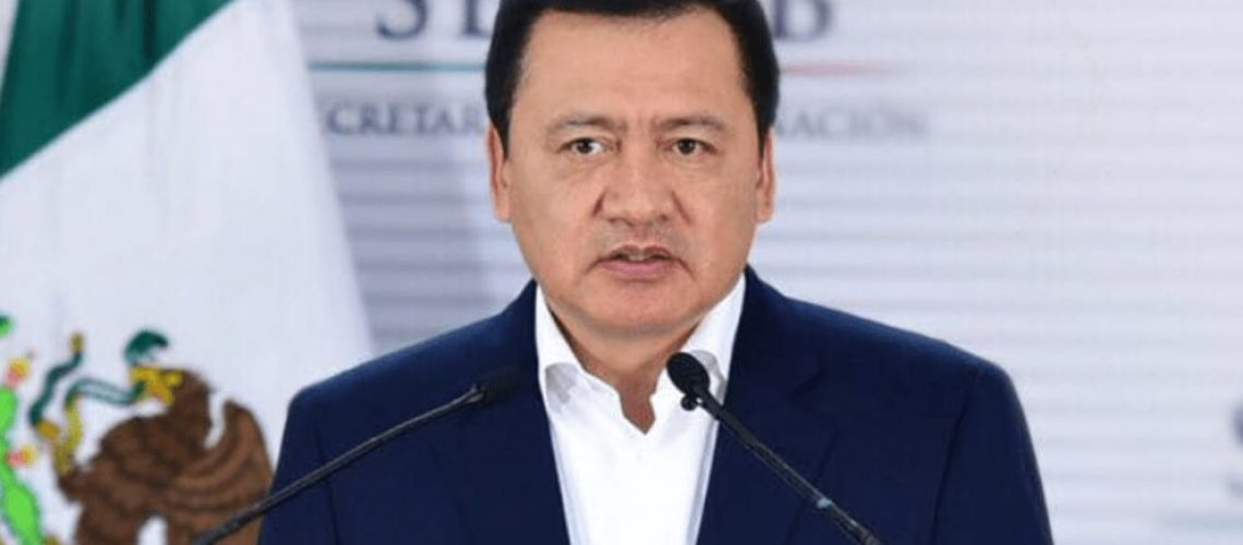 Miguel Ángel Osorio Chong da positivo a COVID-19