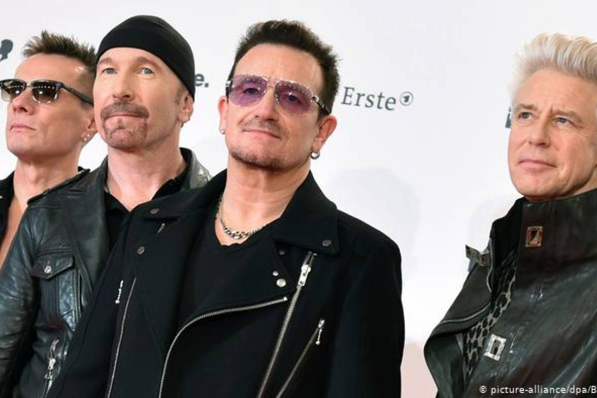 U2 dona 10 millones de euros para combatir el COVID-19